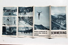 23248 Reise Prospekt Semmering Autriche um 1930