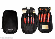 PROFESSIONAL MAKE UP ARTISTS TRAVEL BRUSH SET 12PC NATURAL HAIR ORIGINAL RRP$99