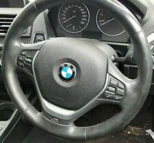 BMW F20 1-SERIES 118i STEERING WHEEL NON AIR BAG M-SPORT LEATHER BLACK 6/11-2/15