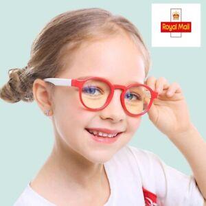Screen Glasses for Kids Glasses Video Computer Gaming Anti Blue Light Glasses UK