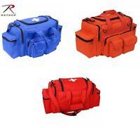 RED BLUE ORANGE EMT PARAMEDIC FIRST RESPONDER Aid Emergency Medical Carry Bag