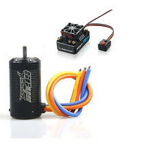 Tenshock SC411 3500KV Motor Hobbywing XR8 SCT 140A ESC Brushless For 1/10 RC Car
