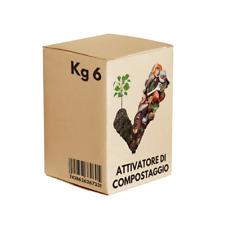 Attivatore Compostaggio Compost Granulare Multipack 3 Scatole Da 2 Kg Ciascuna