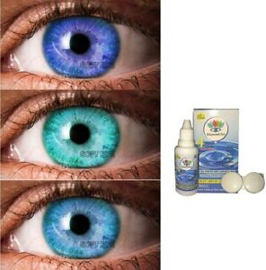 Fashionable Eye Color for Parties Free Solution & Case Darkblue-Aqua-Aqua blue.