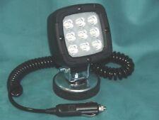 LED ARBEITSSCHEINWERFER MIT MAGNETFUß 9 LED ( OSRAM ) - 1300lm UNI 12-36 VOLT