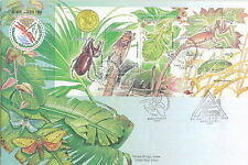 M'sia SS FDC Insects stamp week 28.11.1998