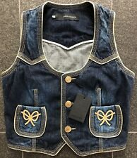 DSQUARED2 S/S 2006 COWGIRL WESTERN JEANS VEST WESTE 44 38 beautiful and so hot