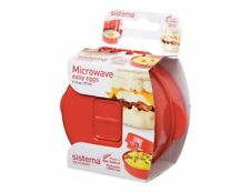 Sistema Microwave Egg Cooker Easy Eggs 270ml Poached Scrambled Omelette Maker