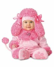 NWT BABY TODDLER GIRL PINK POODLE DOG PUPPY HALLOWEEN COSTUME 18-24 MONTHS 2T