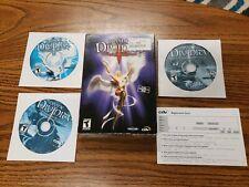 Divine Divinity (PC, 2002)  Box Computer PC WINDOWS RARE complete