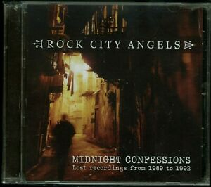 Rock City Angels Midnight Confessions CD new