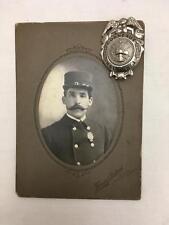 1895 1910 Fireman Badge H&L Co No 1 Conneaut  Ohio Charles Albert Sharpe & PHOTO