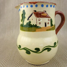 More details for motto ware jug hand painted vintage pottery torquay england