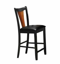 Boyer Counter Height Stools Amber and Black - Set of 2
