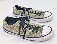 Converse All Star Unisex Money Print Canvas Shoes - Men's Size 6, Women's Size 8