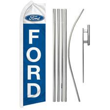 Ford Advertising Swooper Flutter Feather Flag Kit Car Dealership Trucks Autos