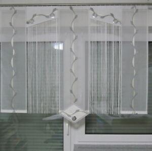 Gardine Schiebevorhang Fadenvorhang Schiebegardine Küchengardinen  Vorhang