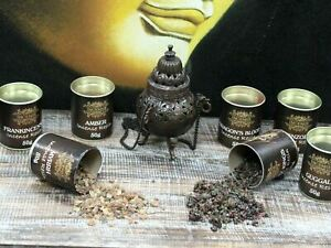 50gm Aromatic Resin Ancient Incense Smoky Home Fragrance Tub for Charcoal Burner