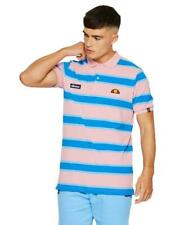 Ellesse mens Marono polo shirt in pink RRP 39.99