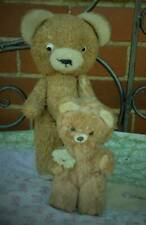 2 VERY CUTE OLD, SMALL SMILING GERMAN TEDDY BEARS