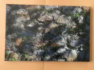 BILDER LEINWAND 60x40 cm  BILD ChieMando #6  Wandgrün