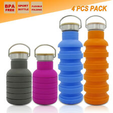 2x Collapsible Outback Sport Office Water Bottle Outdoor Camping Gym Kettle Cup