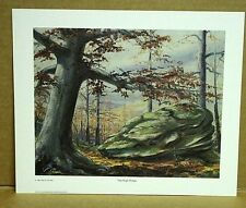 The High Ridge by Kentucky Artist Al Cornette Red River Gorge Big Clifty Signed