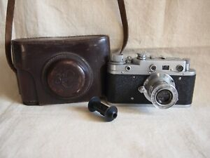 KMZ ZORKI S INDUSTAR-50 50mm 1: 3,5 Linse 1956 Jahre