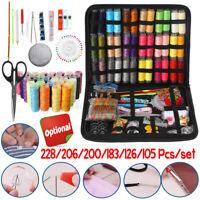 228Pcs Sewing Kits Needles Thread Spool DIY Craft Tool with Storage Bag Bo