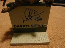 Darryl Sittler Toronto Maple Leafs signed Legends Row Figure Figurine Autograph