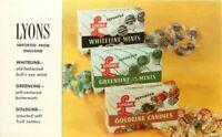 Advertising Lyons Mints Candies Buffalo New York Postcard 20-6397