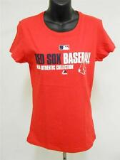NEW BOSTON RED SOX WOMENS MEDIUM M Shirt by MAJESTIC