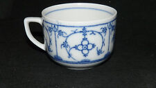 Winterling Schwarzenbach indisch blau Strohmuster Kobalt Tasse Teetasse 0,22 ltr