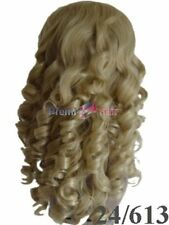 NEW CURLY BLONDE WIG FUN FANCY DRESS FREE PP TRANSVESTITE SISSY CROSSDRESSER