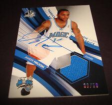 Jameer Nelson Magic Saint Josephs 2005 SP Authentic Jersey Signed Autograph JN15