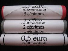 MDS SPANIEN 2016 ROLLEN 1, 2, 5 CENT - SICHTROLLEN
