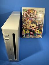 Nintendo Wii Console RVL-001 Only Gamecube Replacement Free Carnival Games
