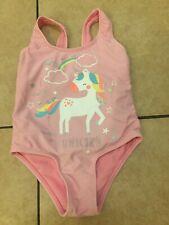 Unicorn Ragazze Flapdoodles Aqua Costume da bagno nuovo con etichetta 4 anni Unicorni Nuovo con Etichetta