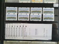 ATM Deutschland, Michel 2.2.1, TS1 xx , ABAS Bottrop mit 8 Einzel AQ a.d.Z.