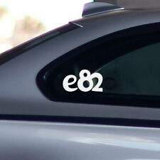BMW e82 window windshield sticker stance sport decal