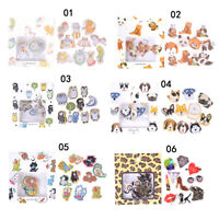 70pcs Animals Mini Paper Sticker DIY Diary Planner Album Phone Sticker Decor OS