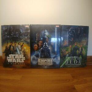 Star Wars Hardback Books - Sealed