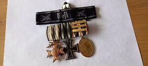 3 Schnallen mit bayrischen Militär Verdienstkreuz