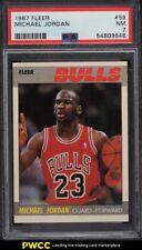 1987 Fleer Basketball Michael Jordan #59 PSA 7 NRMT