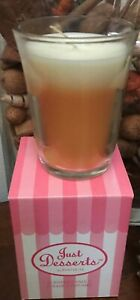 PARTYLITE PINEAPPLE UPSIDEDOWN CAKE JUST DESSERTS LAYERED CANDLE $24 JAR 40% OFF