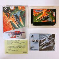 Gradius 2 II Nintendo Famicom FC NES Japan Game w/manual box