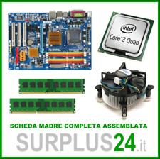 GIGABYTE GA-P31-DS3L + Core2Quad Q6600 + 4GB Scheda Madre completa Bundle #751