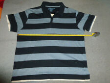 "Gents Blue striped top by ""Easy""  slim fit 40/42 chest"