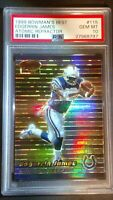 1999 ATOMIC REFRACTOR Edgerrin James RC/100 / POP 6 / PSA 10 GEM MINT / HOF