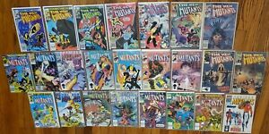 HUGE NEW MUTANT #1-100 (1983 SERIES) – 48 ISSUES LOT NEWSSTANDS NO #32 or 98